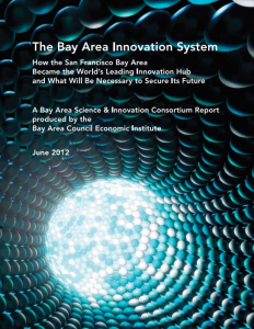 The Bay Area Innovation System