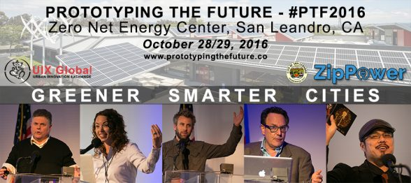 Prototyping the Future 2016: Greener Smarter Cities, Discount Ticket; Conference, Expo, and Job Fair on October 28-29, 2016